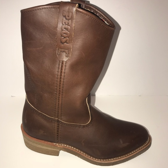 572275eb166 Red Wing Pecos 1155 Leather Boots Sz 7 Like New!!!